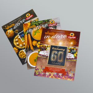 Design Services for ShopRite Quarterly Newsletter/Magazine