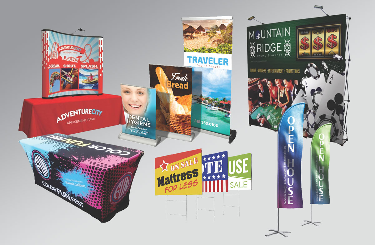 Large Format Printing | Trade Show Displays | Signs